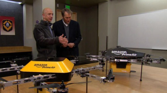 Amazon Drone - The Skies the Limit for MRO Spares Image Source: http://www.forbes.com/sites/markrogowsky/2013/12/03/that-buzz-you-hear-isnt-an-amazon-drone/