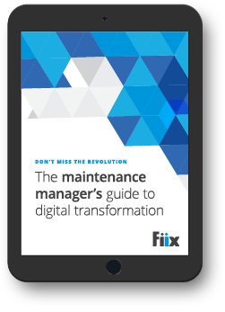The maintenance manager's guide to digital transformation