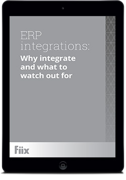 iPad with ERP integrations: Why integrate and what to watch out for on screen