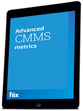 Advanced CMMS metrics iPad graphic