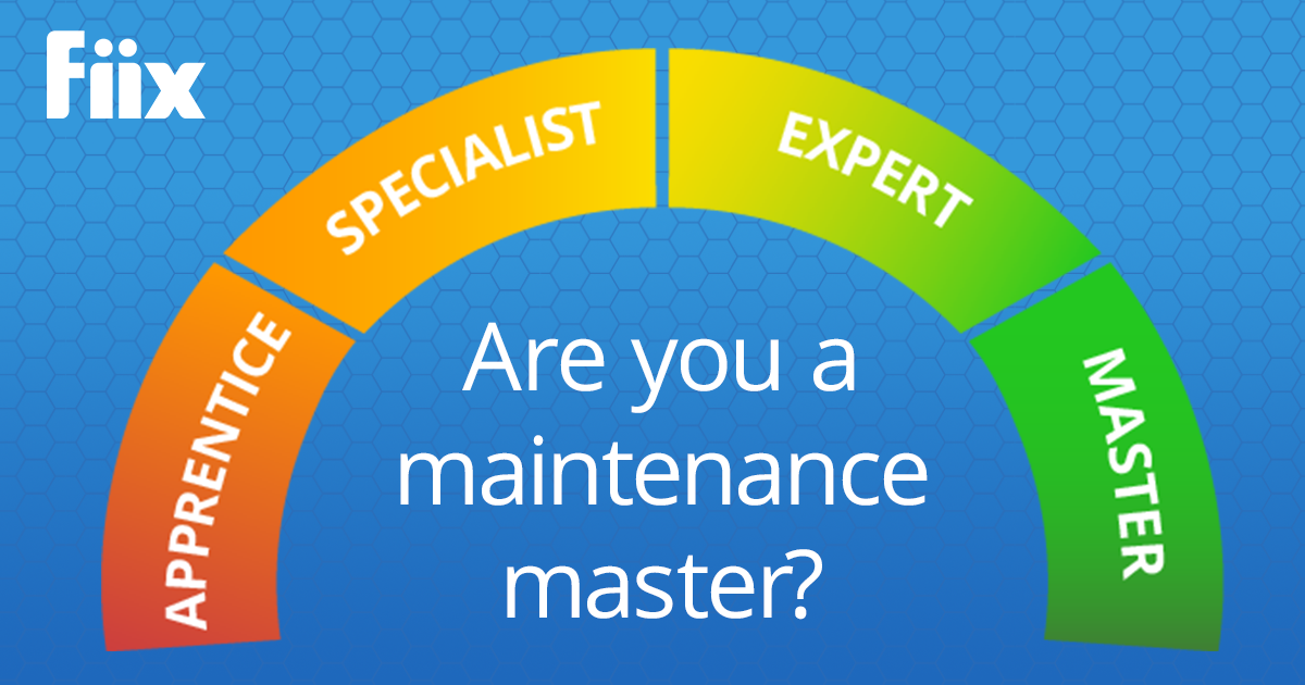 Are you a maintenance master meter