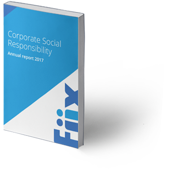 Fiix Corporate Social Responsibility Annual Report Booklet 2017