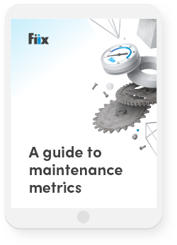 Metrics e-book on iPad