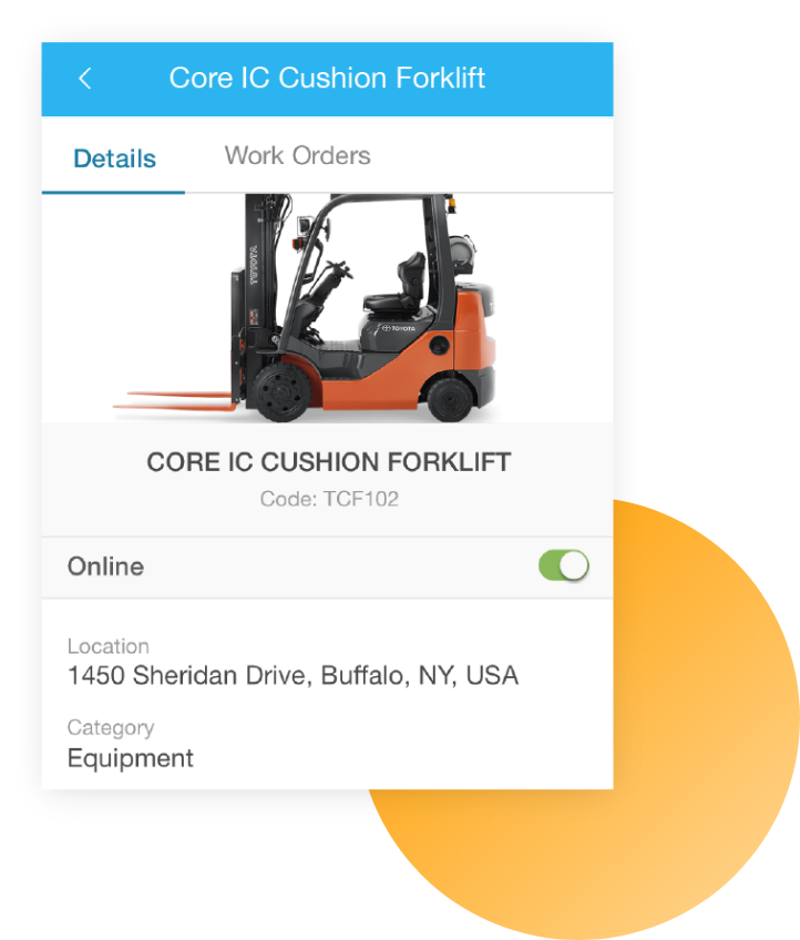 Mobile core IC cushion forklift screenshot