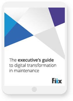 The executive's guide to digital transformation in maintenance