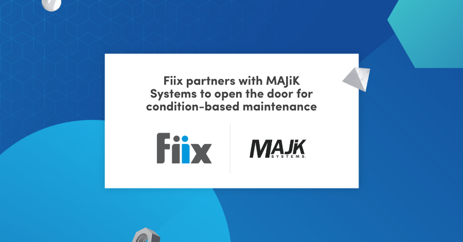Fiix partners with MAJiK systems