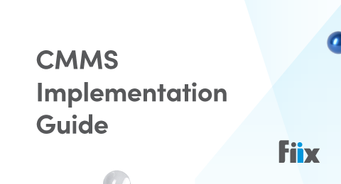 CMMS implementation guide graphic