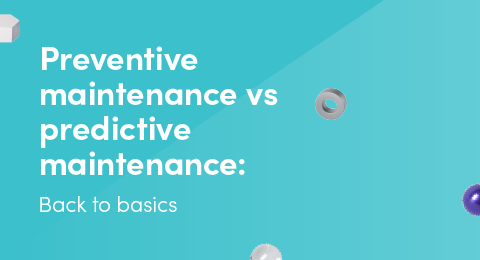 Preventive maintenance vs predictive maintenance graphic
