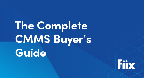 The Complete CMMS Buyer's Guide graphic