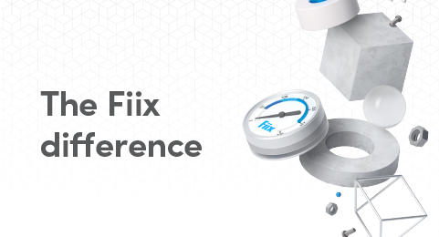 The Fiix difference graphic