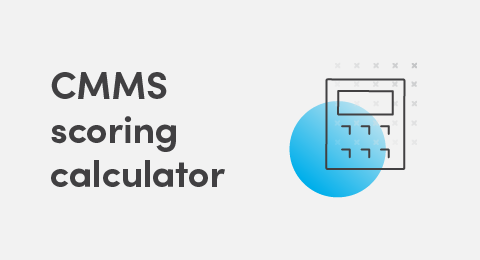 CMMS scoring calculator graphic