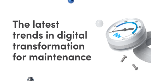 The latest trends in digital transformation for maintenance graphic