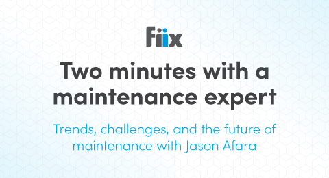 Trends, challenges, and the future of maintenance with Jason Afara graphic