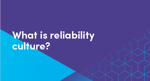 What is reliability culture graphic