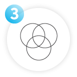 ven diagram icon