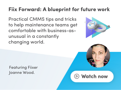 webinar recap fiix forward blueprint