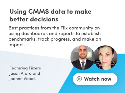 Using CMMS data to make better decisions