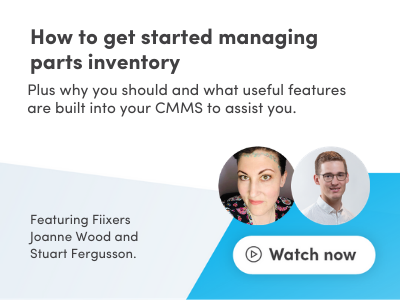 How to get started with managing parts inventory