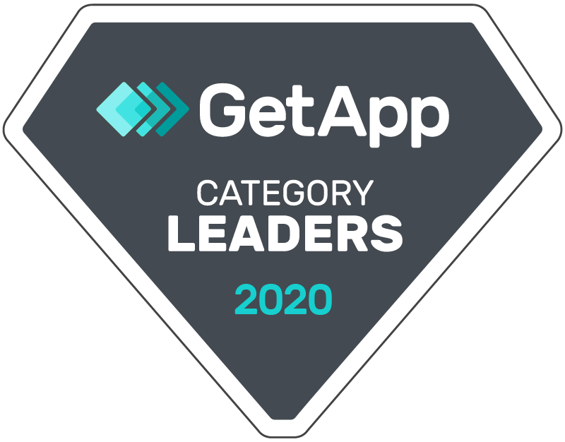 GetApp Category Leaders winner 2020 badge