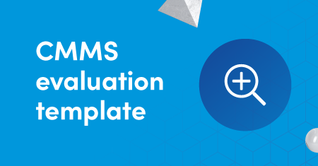 CMMS evaluation template graphic