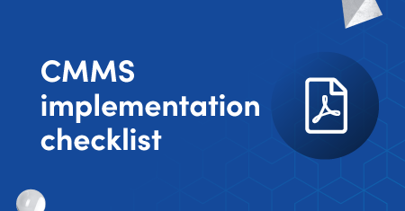 CMMS implementation checklist