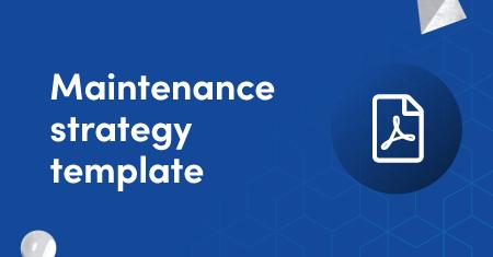 Maintenance strategy graphic