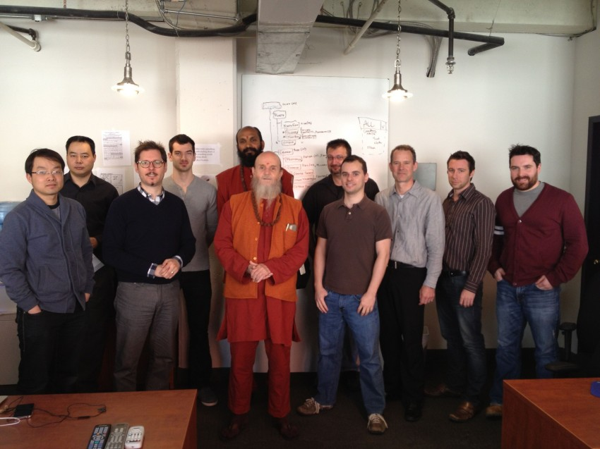 MA CMMS Software team with customers.