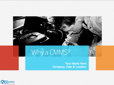 Why a CMMS presentation